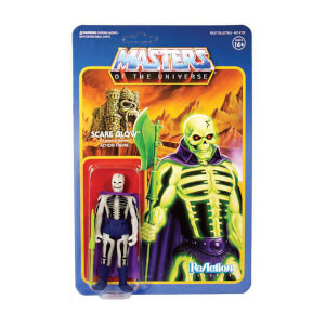 Super7 Masters of the Universe ReAction Action Figure Wave 4 Scare Glow 10 cm