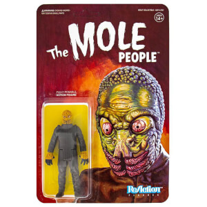 Super7 Universal Monsters ReAction actiefiguur Mole Man (10 cm)