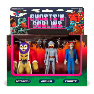 Super7 Ghosts 'n Goblins ReAction Action Figure 3-Pack A 10 cm
