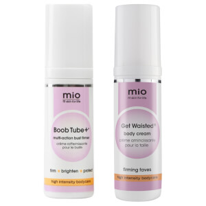 Mio Skincare Get Waisted and Boob Tube+ Travel Size Duo (Worth $33.00)
