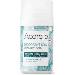 Acorelle Care Lotus Bergamot Roller Ball Deodorant