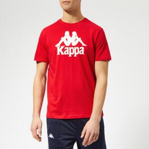 Kappa Men's Authentic Estessi Short Sleeve T-Shirt - Red