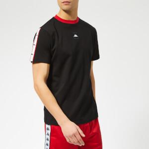 Kappa Men's Authentic Japan Barta Short Sleeve T-Shirt - Black