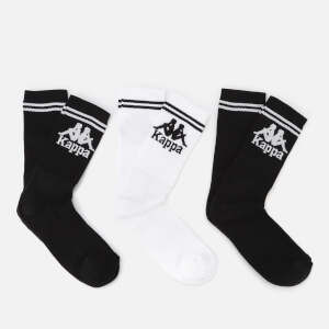 Kappa Authentic Soccar Socks - 3 Pack - Black