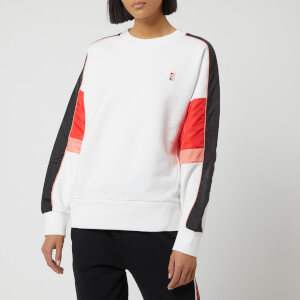P.E Nation Women's Five Star Sweatshirt - White