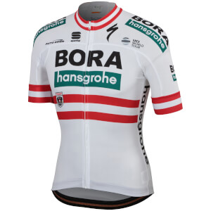 Sportful Bora-Hansgrohe BodyFit Team Jersey - Austrian National Champion Edition