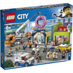 LEGO® City: L'ouverture du magasin de donuts (60233)