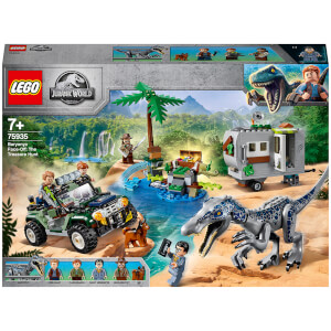 LEGO® Jurassic World™: Baryonyx' Kräftemessen: die Schatzsuche (75935)