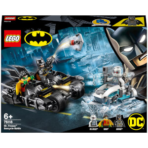 LEGO Super Heroes: Batcycle-Duell mit Mr. Freeze™ (76118)