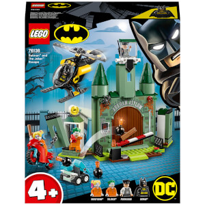 LEGO 4+ DC Batman Batman and The Joker Escape Toys (76138)