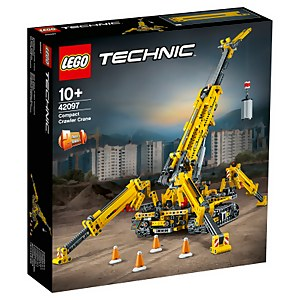 LEGO Technic: Compact Crawler Crane Construction Set (42097)