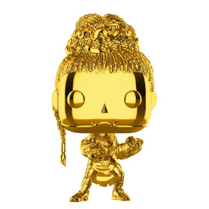 Marvel MS10 Shuri Gold Chrome NYCC 2018 EXC Pop! Vinyl Figure