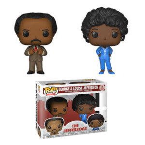 Lot de 2 Figurines Pop! The Jeffersons George & Louise EXC