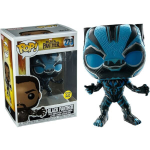 Marvel Black Panther GITD EXC Pop! Vinyl Figure