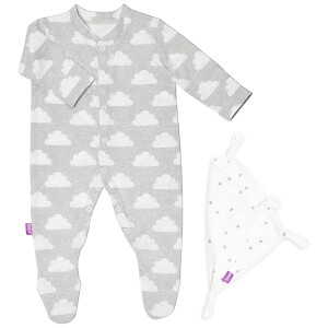 Snüz Baby Sleepsuit and Comforter Gift Set (0-3m) - Cloud Nine