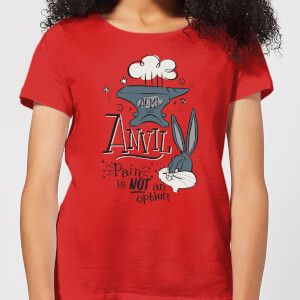 Looney Tunes ACME Anvil Women's T-Shirt - Red