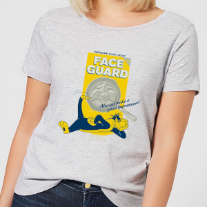 Looney Tunes ACME Face Guard Women's T-Shirt - Grey