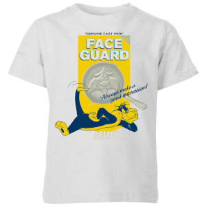 Looney Tunes ACME Face Guard Kids' T-Shirt - Grey