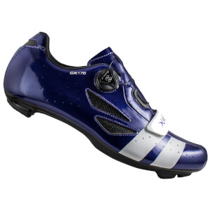 Lake CX176 Road Shoes - Navy Blue/White