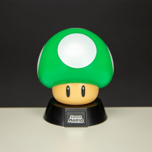 Super Mario 1Up Mushroom Icon Light