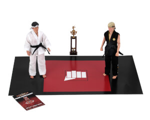 "NECA Karate Kid (1984) - 8"" Clothed Action Figure - Tournament 2pk"