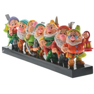 Figurine Sept nains de Blanche-Neige par Britto (15cm)– Disney