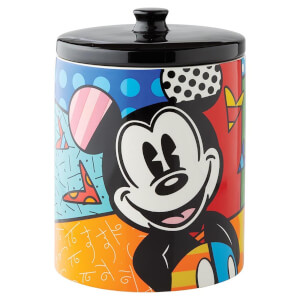 Disney Britto Mickey Canister Cookie Jar 26.0cm