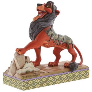 Preening Predator, Figurine Scar (18cm)– Disney Traditions