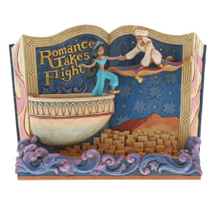 Figurine Disney Traditions – Livre Aladdin – Romance Takes Flight 14 cm