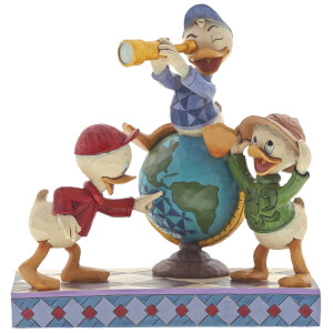 Disney Traditions Navigating Nephews (Huey, Dewie and Louie Figurine) 17.0cm