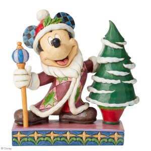 Disney Traditions Jolly Ol' St. Mick (Mickey Mouse Father Christmas) 19.0cm
