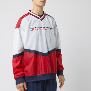Tommy Hilfiger Sport Men's Pull Over Jacket - True Red