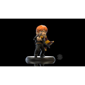 Figurine Q Fig Harry Potter - Ron Weasley Premiere Baguette Quantum Mechanix