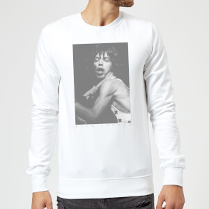 Rolling Stones Mick BW2 Sweatshirt - Weiß