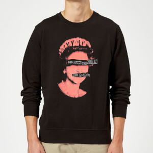 Sex Pistols God Save The Queen Sweatshirt - Schwarz