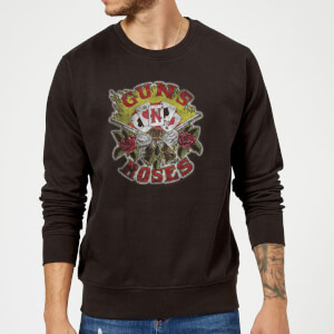 Guns N Roses Cards Sweatshirt - Schwarz