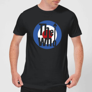 The Who Target Herren T-Shirt - Schwarz