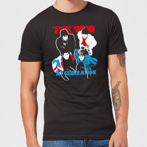 The Who My Generation Herren T-Shirt - Schwarz