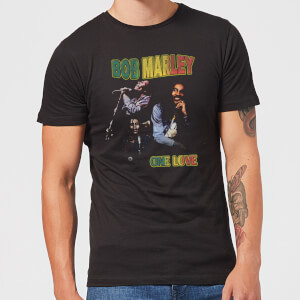 Bob Marley One Love Men's T-Shirt - Black
