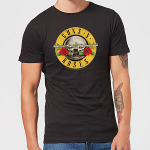 Guns N Roses Bullet Men's T-Shirt - Black