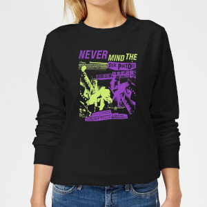 Sex Pistols Japan Tour Damen Sweatshirt - Schwarz
