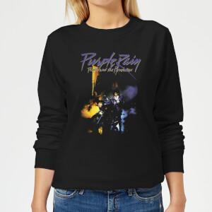 Prince Purple Rain Damen Sweatshirt - Schwarz