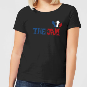 The Jam Text Logo Women's T-Shirt - Black