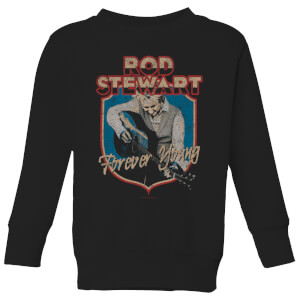 Rod Stewart Forever Young Kids' Sweatshirt - Black
