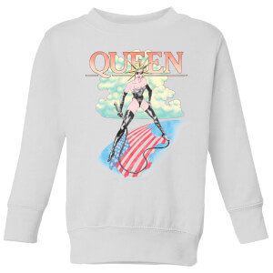 Queen Vintage Tour Kids' Sweatshirt - White