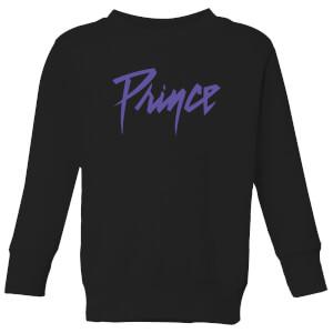 Prince Name Kids' Sweatshirt - Black