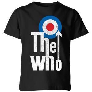 The Who Target Logo Kids' T-Shirt - Black