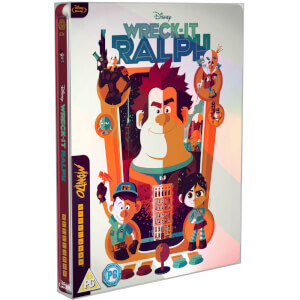 Wreck it Ralph - Mondo #34 Zavvi Exclusive Limited Edition Steelbook