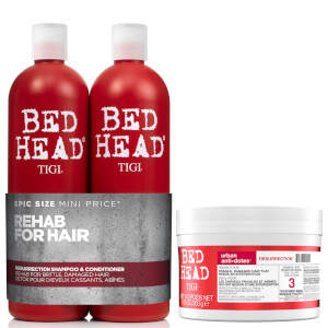 TIGI Bed Head Repair Shampoo, Conditioner and Hair Mask Set (Worth $122)