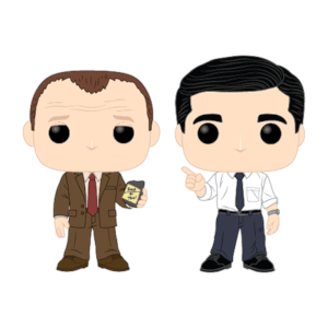 Lot de 2 Figurines Pop! The Office - Toby vs Michael